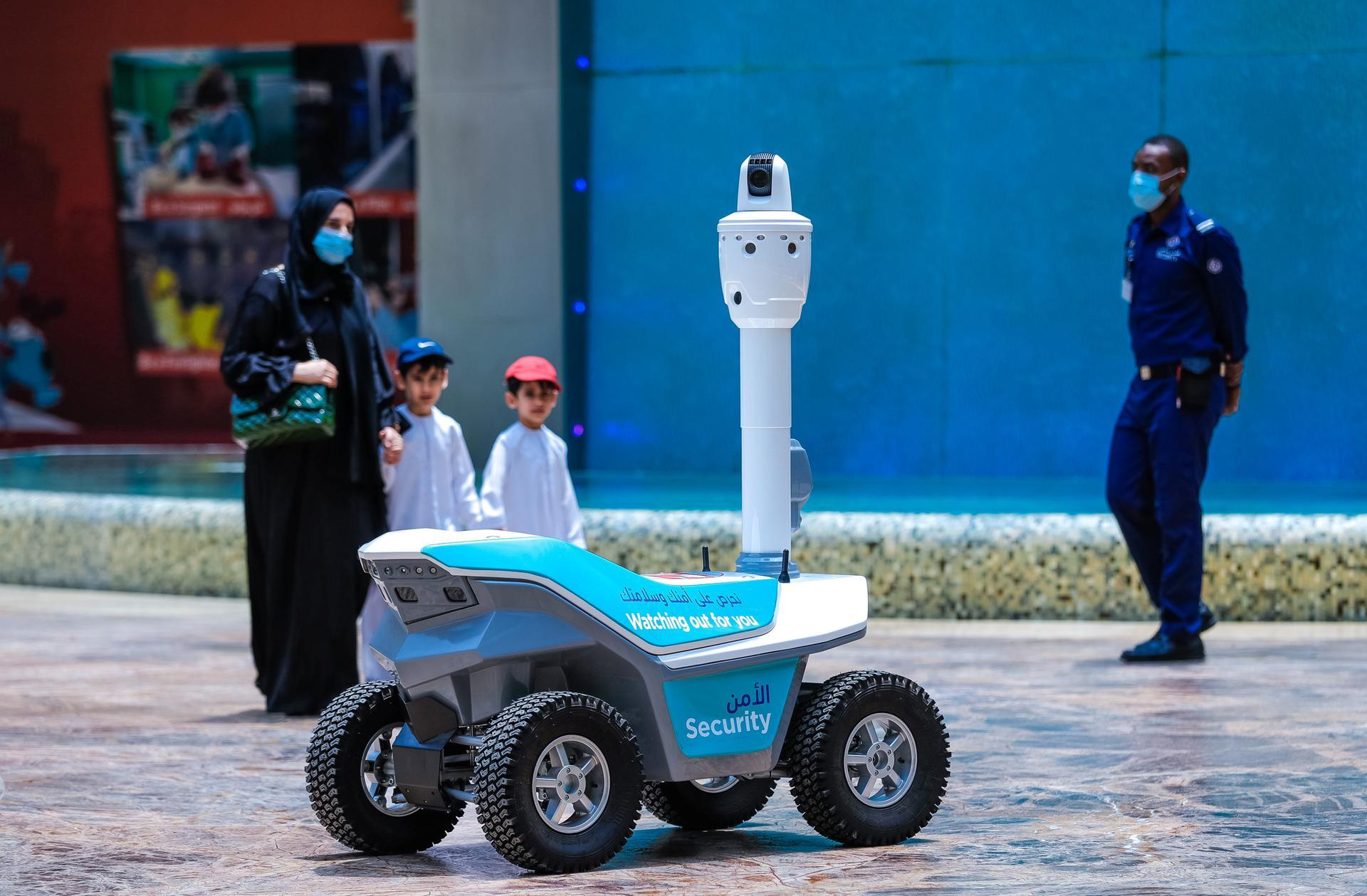 Robots save lives during a pandemic