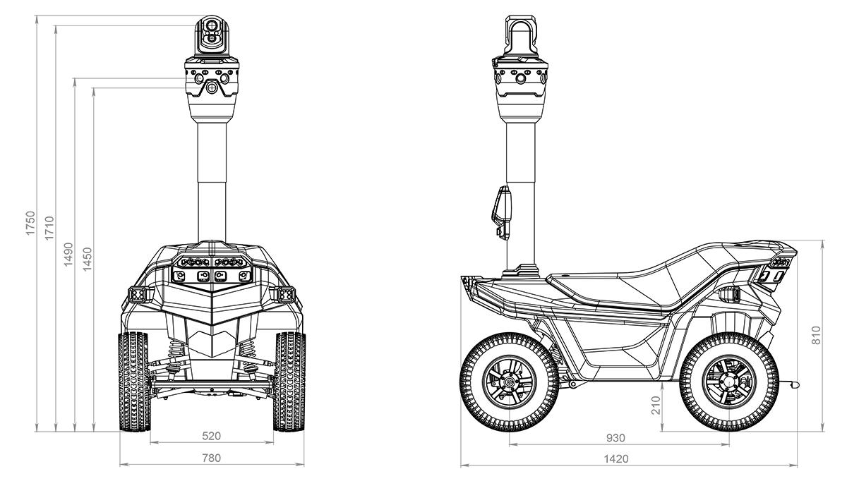 Autonomous Unmanned Ground Vehicle S series