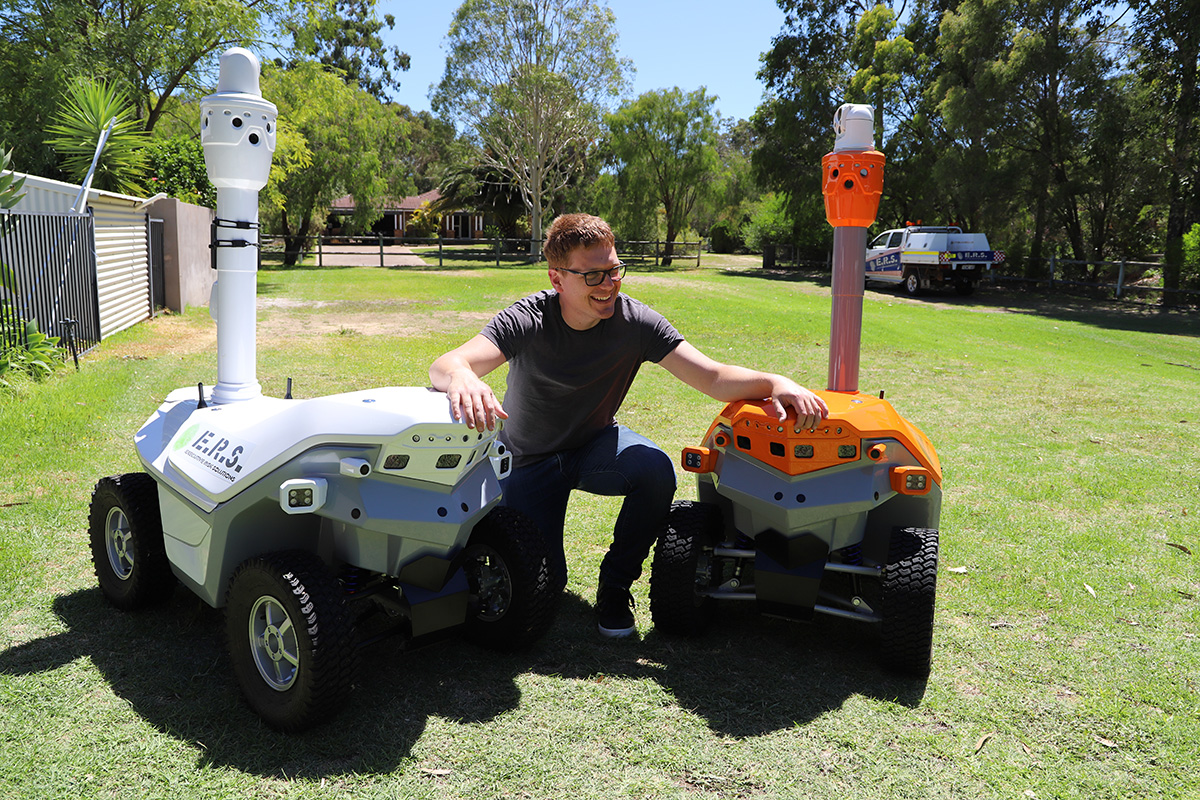 Eco friendly robot Australia