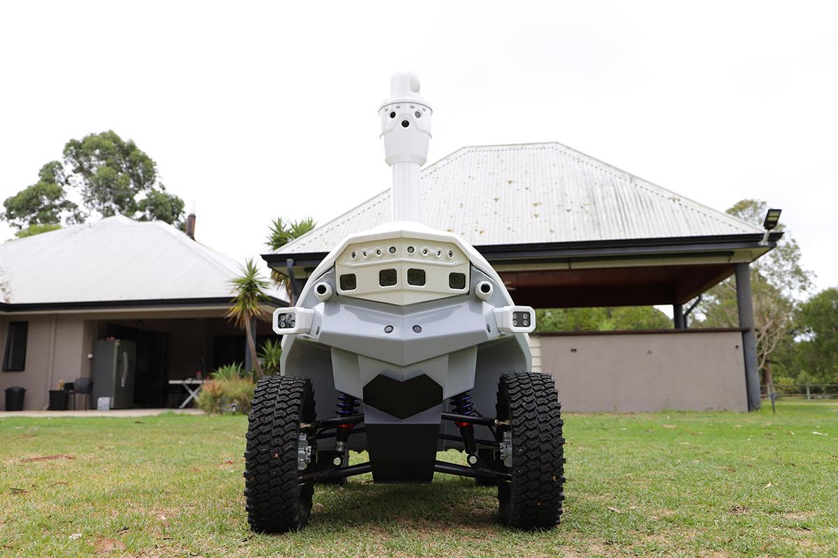 Robot for zero emission technology