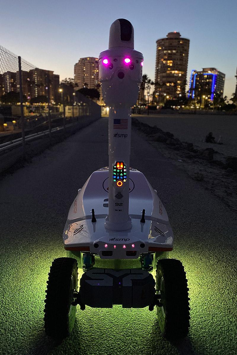 Anti-coronavirus robot