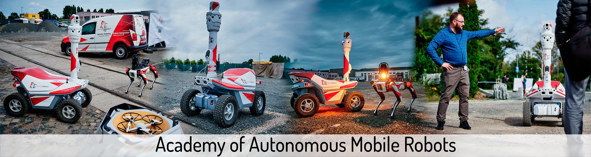 Academy of autonomous mobile robots