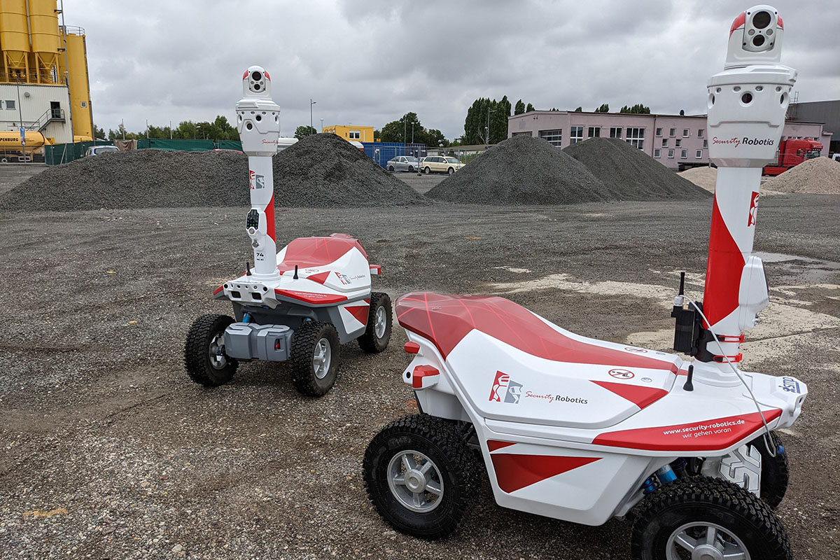 Robotic security services Europe