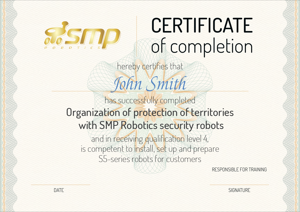 SMP certificate manager